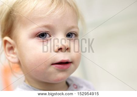 Face Of Toddler