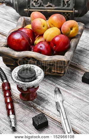 Hookah With The Aroma Of Plums