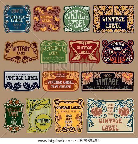 Art - Labels