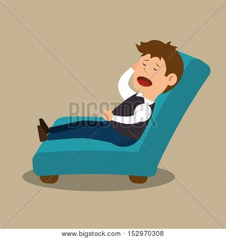 psychologist therapy session icon design vector illustration eps 10