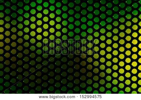 speaker grille. Perforated grating on the background color blurred abstract backdrop