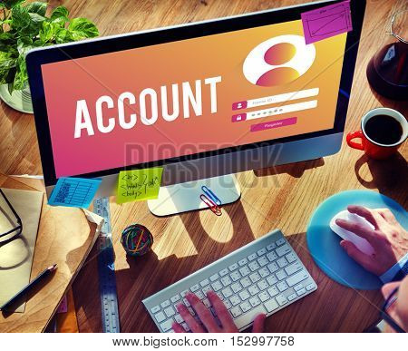 Account Sign In User Password Privacy Concept