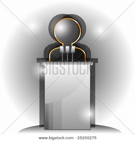 Symbol des Lautsprechers