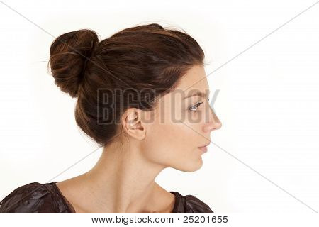 Woman Head Side Neck