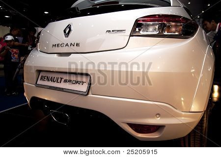 Renault Megane RS Rear View