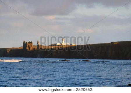 Castle And Lighthouse
