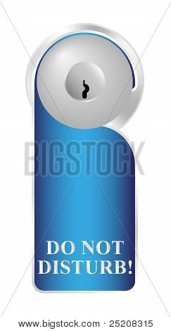 Label - Do not disturb!