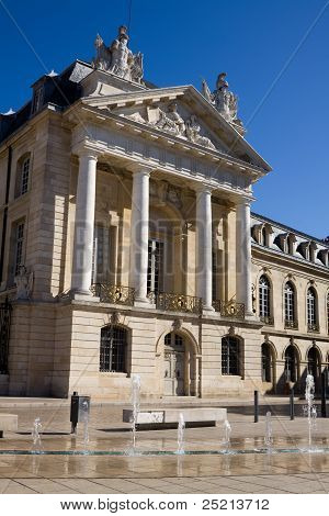 The Palace Of Dukes Of Burgundy In Dijon, France