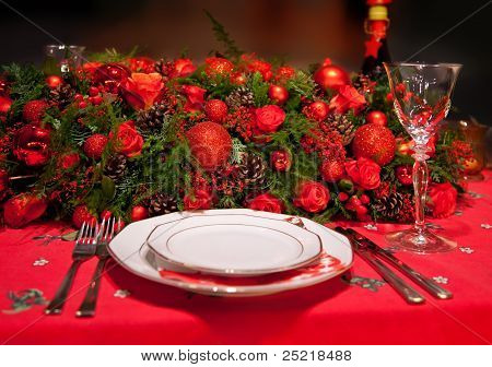 Flowers Decoration On Table