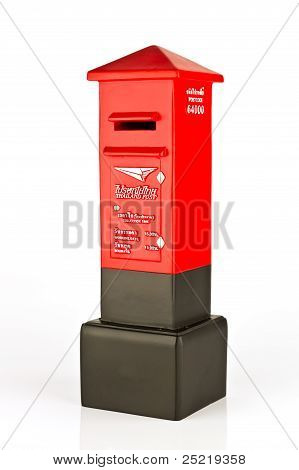 Model Of Thai Post Box
