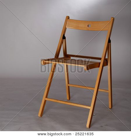A Wood Foldable Chair