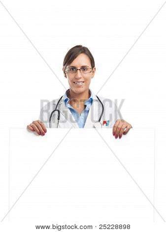 Doctor Show Blank Sign