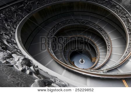 Spectacular Vatican Museum Spiral Staircase