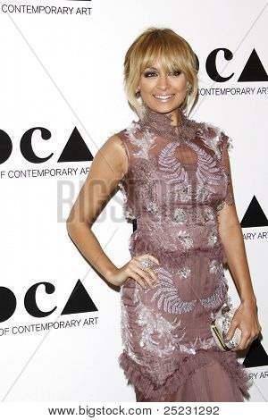 LOS ANGELES - NOV 12: Nicole Richie at the 2011 MOCA Gala, An Artist's Life Manifesto at MOCA Grand Avenue on November 12, 2011 in Los Angeles, California