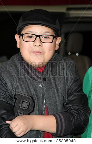 LOS ANGELES - NOV 12:  Rico Rodriguez arrives at the