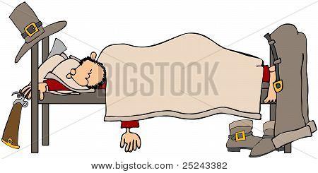 Sleeping Pilgrim