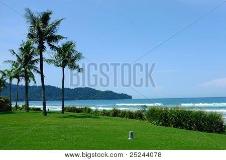 Tropical Beach in Sabah, Borneo