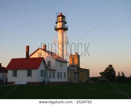Evening Lighthouse