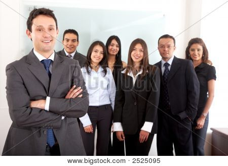 Group Of Office Workers