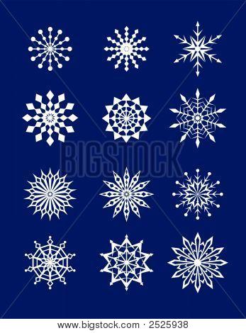 Snowflakes.Eps