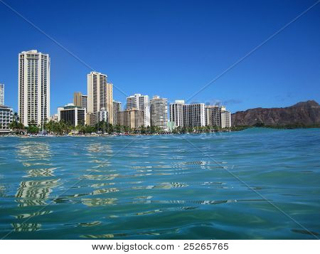 Hotels At Waikiki Beach, Hawaii