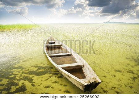Boat At Coast