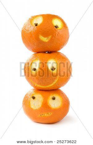 Funny tangerines