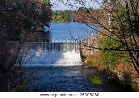 Glen Loch Dam and Lake In Chippewa Falls