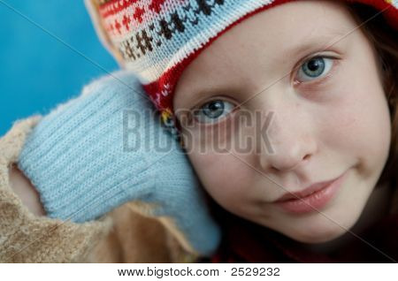 Winter Dressed Girl