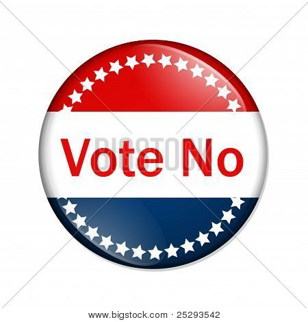 Vote No Button