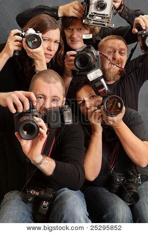 Fotógrafos loucos