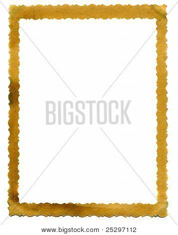 Vintage Photo Framework