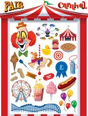pic of circus tent  - Fair - JPG