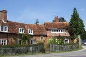 Typical English Tudor Style Cottage Housing.