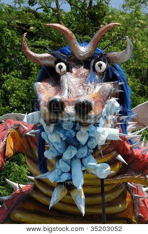 France, Terrific Dragoon In Les Mureaux Carnival