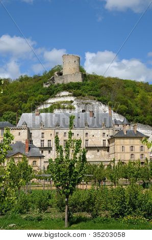 France, The Castle Of La Roche Guyon