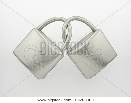 Male and female locks
