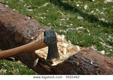 Chopping Log