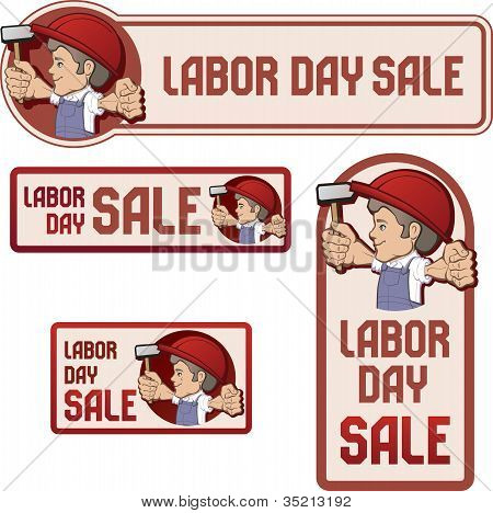 Banner  For Labor Day Sale.