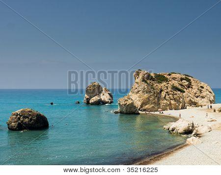 Aphrodites rock, Cyprus (Petra tou Romiou)