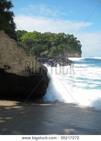 Beach of Pangandaran