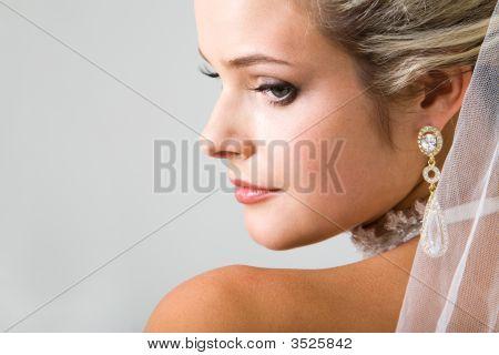 Half Face Of Fiancee