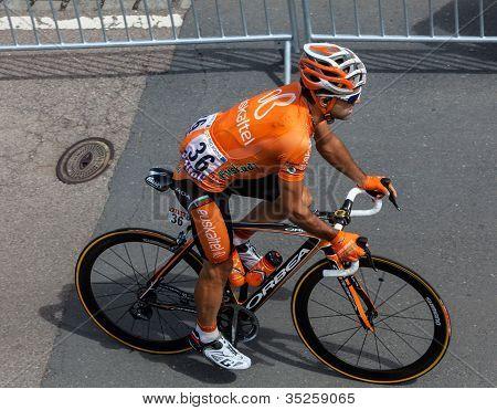 der spanische Radrennfahrer Perez Moreno Ruben