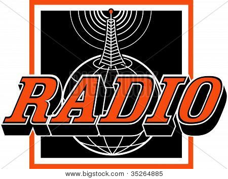 Radio Sign Clip Art