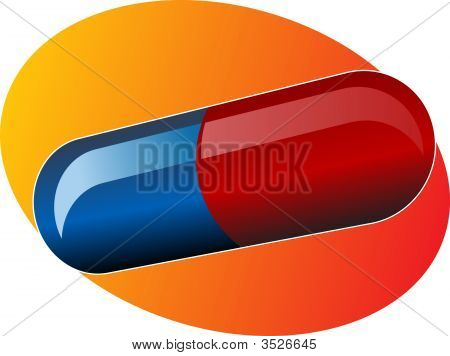 Illustration Of Medical Pill