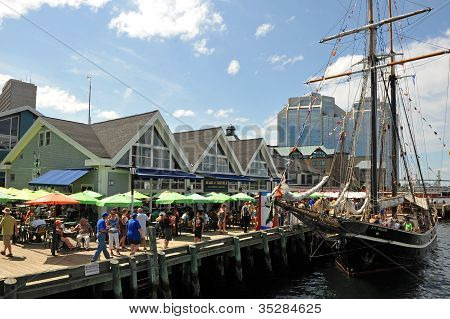 Tall Ships Event in Halifax, Nova Scotia, Canada