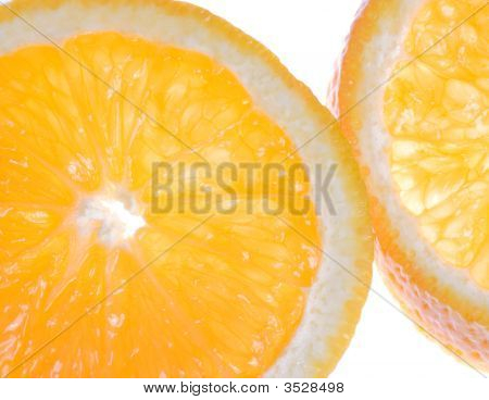 Oranges Cross Section