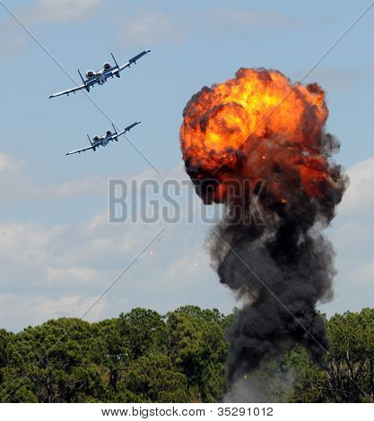 Target Bombing