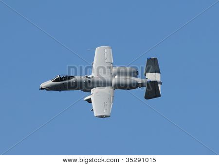 Modern Gunship Fighter Jet