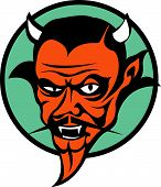 picture of rockabilly  - Devil Clip Art in Cartoon - JPG